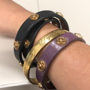 """Kate Spade """"this is the year to"""" bangle"""